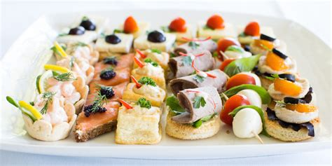 canapes finger food elite catering catering for all occasions