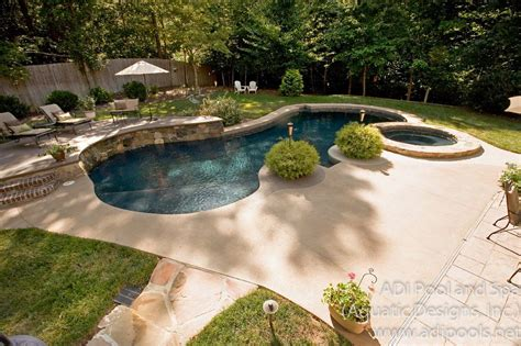 Backyard Landscaping Ideas With Pool by Swimming Pools Adi Pool Spa Residential And Commercial