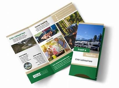 Sales Brochure Template Rv Flyer Tri Fold