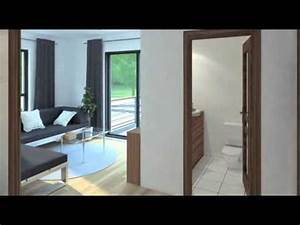 ctlv video maison 3d plans 3dcom youtube With plan maison moderne 3d 1 plan maison moderne en t ooreka