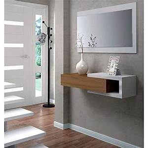 Console Murale Design : console d entr e murale avec miroir vpm ~ Teatrodelosmanantiales.com Idées de Décoration