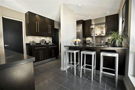 kitchen island bar table beautiful black kitchen cabinets design ideas