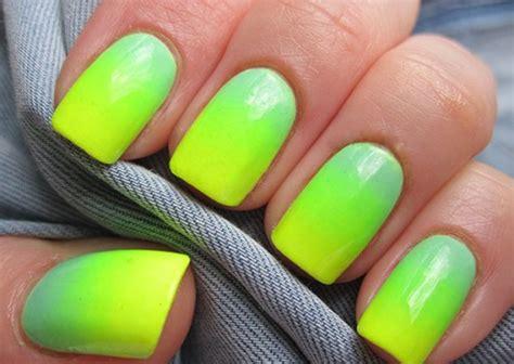 beautiful neon nail art design ideas