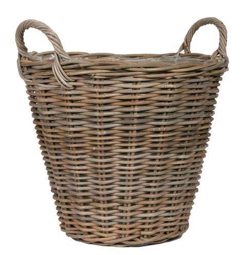 cache pot en rotin cache pot rotin poterie cache pot osier boutique d 233 coration et am 233 nagement jardin poterie