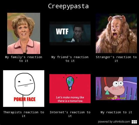 Creepypasta Meme - creepypasta meme by abacada123 on deviantart