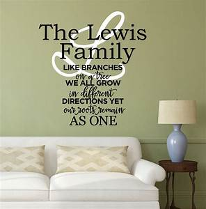 family wall decal quote by decor designs decals family With inspiring family tree decal for wall