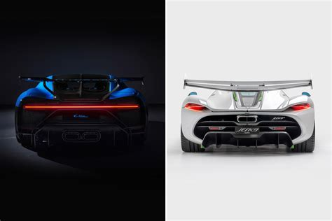 Back to the day, the veyron was highly which one do you prefer better: Design Battle: Bugatti Chiron Pur Sport v Koenigsegg Jesko   CarExpert