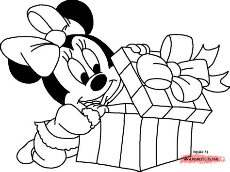 mickey  minnie christmas coloring pages coloring home