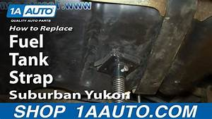 How To Replace Rusty Fuel Tank Straps 2000