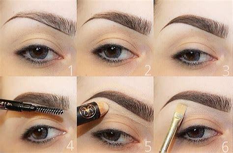 apply concealer  eyebrows