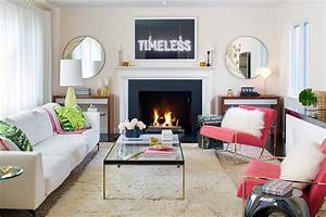 "A ""Calmly Awesome"" Boho Living Room"