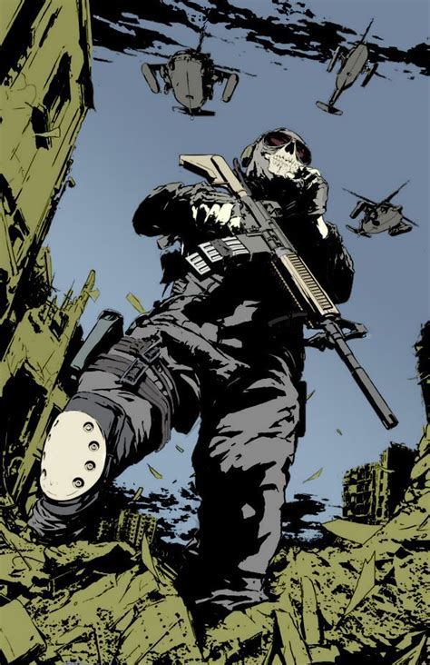 Mw2 Comic Book In Color By Aket On