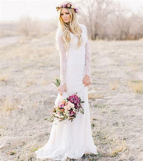 Romantic Elegant Sheer White Tulle Sheath Vintage Lace