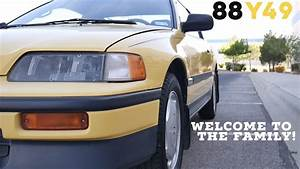 My 1988 Honda Crx Introduction