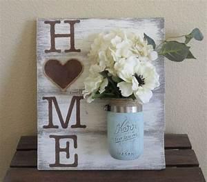 diy mason jar home decor craft ideas fun projects on With fun diy home decor ideas