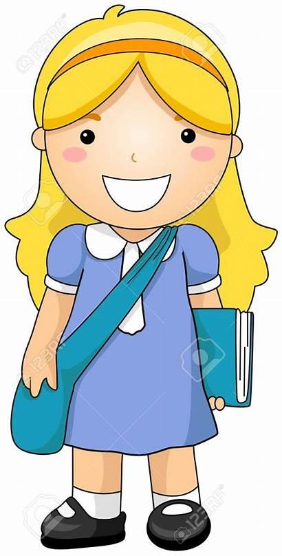 Student Clipart Clip Cartoon Students Animated Boy
