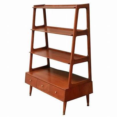 Century Mid Rak Bookcase Buku Bookshelf Kayu