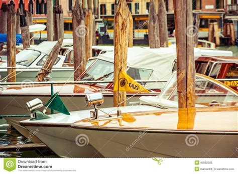Boat Dealers Near Venice by Pier Of Water Taxi In Venice Editorial Image
