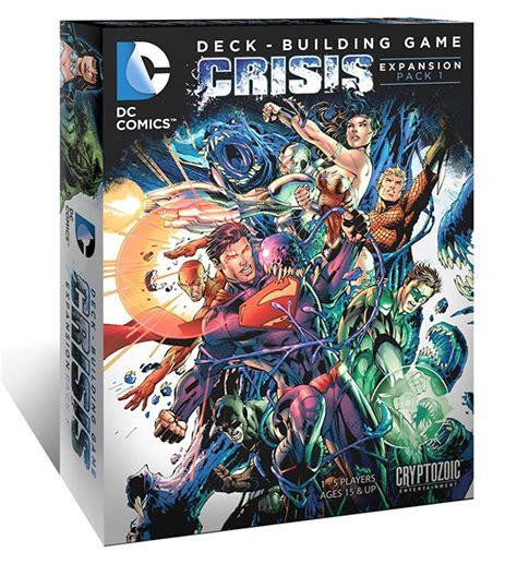 dc comics deck builder expansion dc comics deck building crisis expansion pack 1