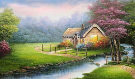 beautiful hut nature wallpaper