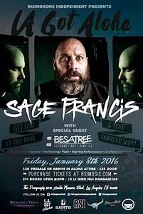 LA Got Aloha Feat. Sage Francis Tickets 01/08/16