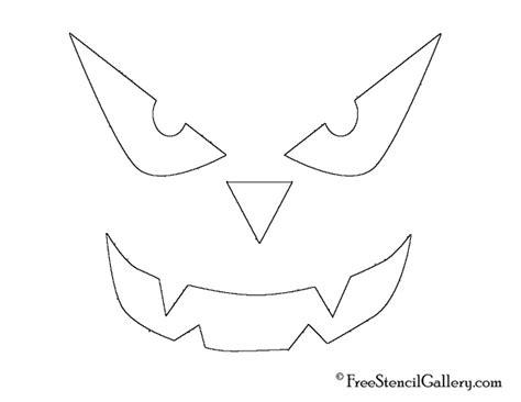 Scary O Lantern Template by Free Printable Disney O Lantern Pattern Stencils