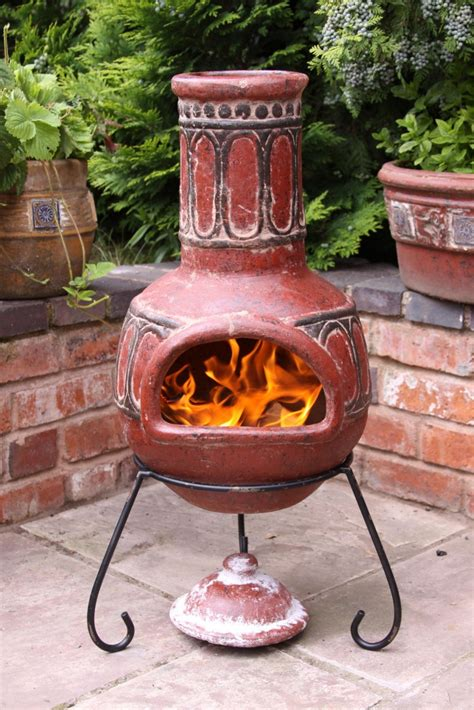 Clay Chiminea by Unique Mexican Patio Furniture 3 Mexican Clay Chiminea