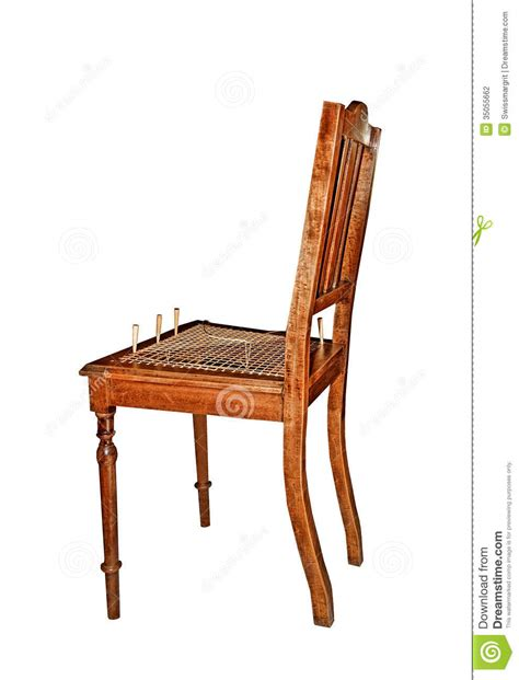 Recaning A Chair by Recaning Wooden Chair Stock Photography Image 35055662