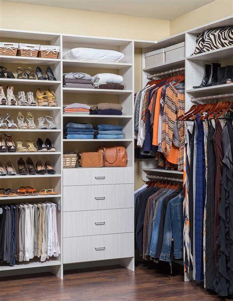 Closet Organization Ideas For Walk In Closets by Small Walk In Closet Ideas For Closets