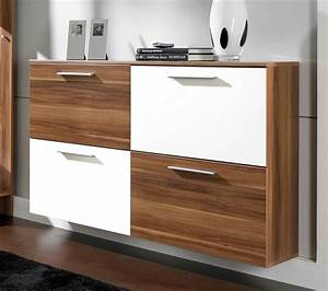 le meuble a chaussure idees de rangement moderne With petit meuble rangement pour entree