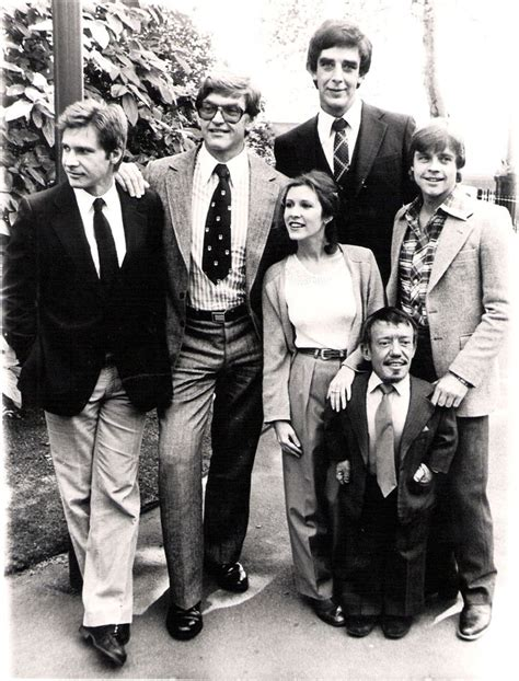harrison ford david prowse carrie fisher peter mayhew