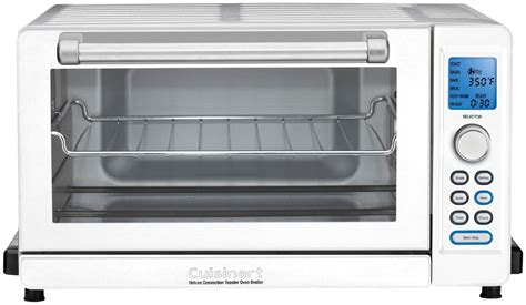 Cuisinart Tob-135w Deluxe Convection Toaster Oven Broiler