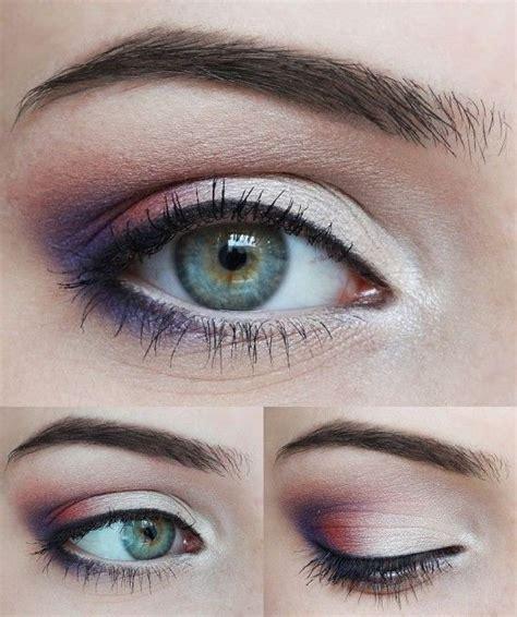 glamorous purple eye makeup  pretty designs