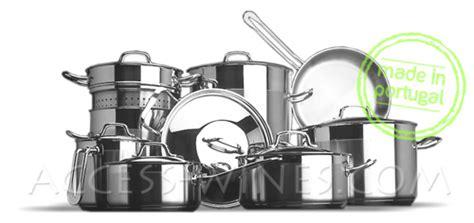 batterie de cuisine cuisinox batterie de cuisine induction inox