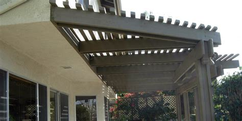 pop up patio cover woodbridge irvine exterior residential patio cover staining painting le tourneau painting in