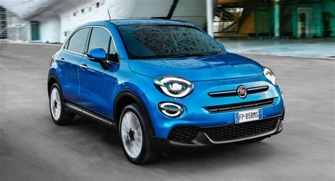 2019 fiat 500x breaks cover with new turbo engines subtle design tweaks carscoops