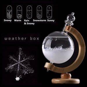 Christmas Xmas Gift Weather Forecast Crystal Globe Shape