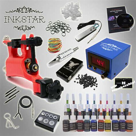 Complete Tattoo Kit Professional Inkstar 1 Machine VENTURE