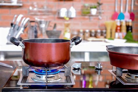 stove gas cooking stoves cookware pot kitchen luxury baking check pan classes royalty construction bangalore closeup makes dreamstime material
