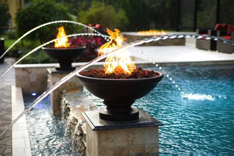 Fire Features  Swimming Pool Quote