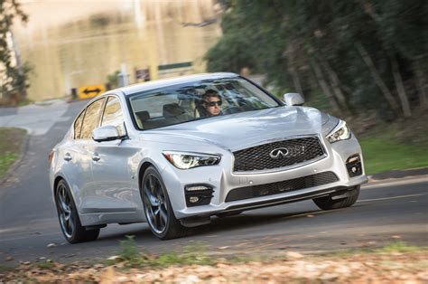 2018 Infiniti Q50s Front End In Motion 03 Photo 14
