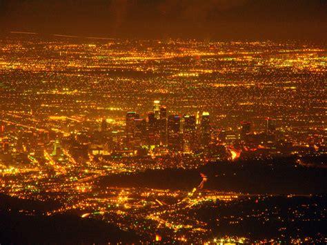 los angeles city lights pics