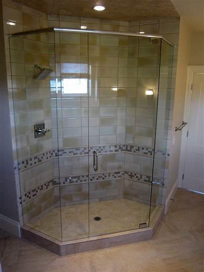 Bathroom Shower Neo Angle Frameless Slideshow