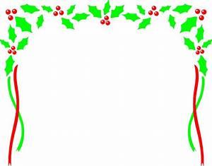 Christmas border christmas clip art borders free printable ...