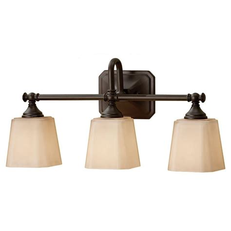 bronze light fixtures feiss concord 3 light rubbed bronze vanity light