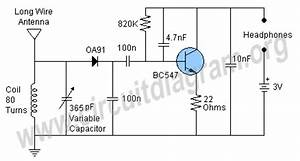 simple am receiver circuit diagram With simple fm receiver
