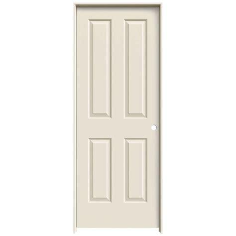 home depot jeld wen interior doors jeld wen 28 in x 80 in molded smooth 4 panel primed