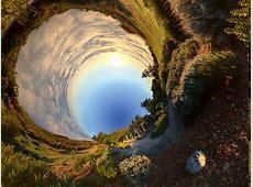 panoramas, Nature, Panoramic Sphere, Clouds, Grass