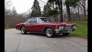 1971 Buick Riviera Gs Gran Sport In Vintage Red  U0026 455