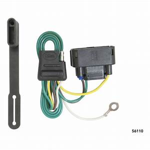 Curt Trailer Hitch Wiring Connector 56110 For Ford F